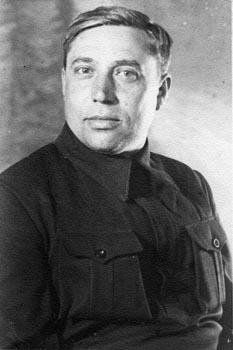 Командир партизанского отрада Израиль Лапидус, 1943 г.