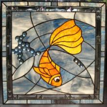 Original Stained Glass by Alla Sharkova